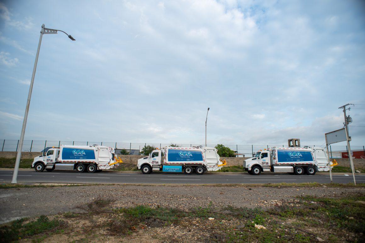Triple A asume directamente la operación de aseo en Barranquilla y adquiere nueva flota de camiones amigables con el medio ambiente