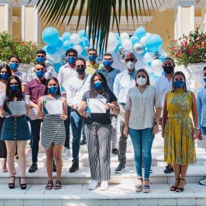 Fundación Triple A entregó becas a jóvenes soledeños